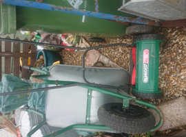 Qualcast push along mower