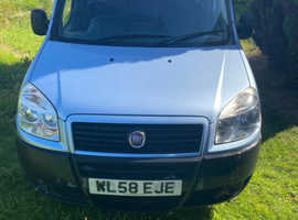 Fiat Doblo, 2008 (58) Blue MPV, Manual Diesel, 39,000 miles
