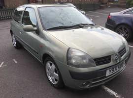 Renault Clio, 2001 (Y) Beige Hatchback, Manual Petrol, 51,154 miles
