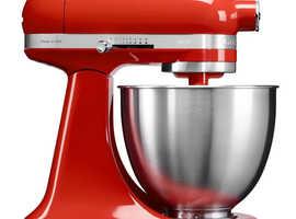 KITCHENAID Artisan Mini Food Mixer Model 5KSM3311 in paprika Red