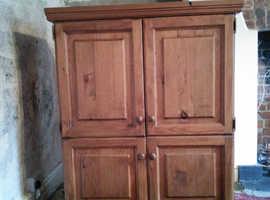 Lovely pine cabinet.