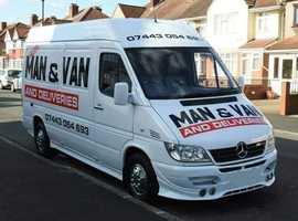 Man&Van Removal Service Luton Van