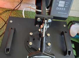 1400W 6 in 1 COMBO MEAT Heat Press Machine