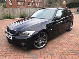 BMW 3 Series, 2011 (11) Black Estate, Manual Diesel, 140,000 miles