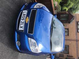 Chevrolet Aveo, 2009 (09) Blue Hatchback, Manual Petrol, 63,706 miles