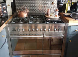 Silver 100cm cooker