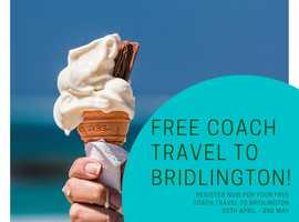 FREE return coach from Sheffield to Bridlington