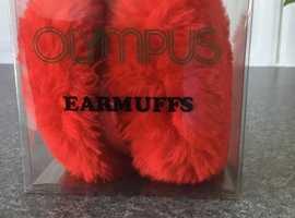Brand new Olympus Sport Earmuffs - Red