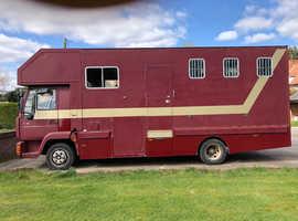 Man 8.163 Horse Lorry