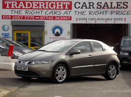 Honda Civic, 2010 (59) Grey Hatchback, Manual Diesel, 88,118 miles