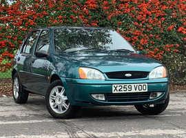 Ford Fiesta 1.25 GHIA, 2000 (X) Green 5 Door Hatchback, Manual Petrol, 92,195 miles, LONG MOT