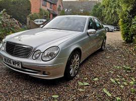 Mercedes E320 CDI Sport, 2006 (06) Silver Saloon, Automatic Diesel, 139,098 miles