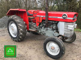 MASSEY FERGUSON 165 OFF FARM 1970 ALL WORKING TRACTOR SEE VID CAN DELIVER