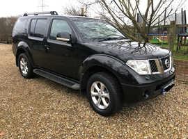Nissan Pathfinder, 2010 (10) Black Estate, Manual Diesel, 140,000 miles
