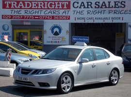 Saab 9-3, 2010 (10) Silver Saloon, Manual Diesel, 73,054 miles