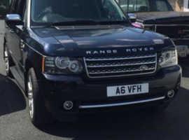 Land Rover Range Rover, 2002 (02) Blue Estate, Automatic Petrol, 150,000 miles