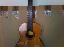 original spanish classical guitar + padded case