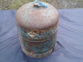 Camping gaz bottle, empty, 2.72 kg, for sale