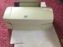 EPSON STYLUS  COLOUR 670 PRINTER, complete with all leads +  bundle of inks,