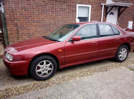 Rover 600, 1999 (V) Red Saloon, Automatic Petrol, 76,000 miles