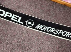 Brand new sun strip visor for Opel / Vauxhall Tigra or similar
