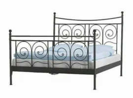 Free for collection Ikea double bed frame and mattress