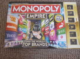 MONOPOLY EMPIRE. USED CONDITION.