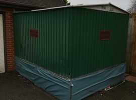 Free garage lean to extention