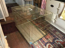 Large dog crate. 2ft x 3ft.