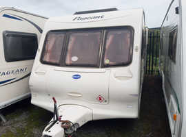 Bailey Pageant 4 berth with end shut off wash room