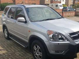 Honda CR-V, 2002 (02) Silver Estate, Automatic Petrol, 110,000 miles
