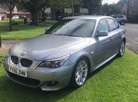 BMW 5 Series, 2006 (56) Grey Saloon, Automatic Diesel, 111,000 miles