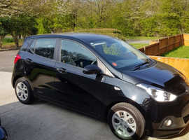 Hyundai i10, 2016 (16) Black Hatchback, Manual Petrol, 33,000 miles