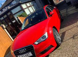 Audi A3, 2013 (63) Red Saloon, Manual Diesel, 79,000 miles