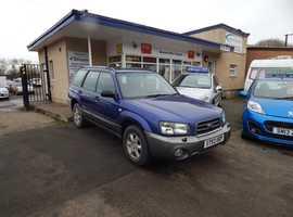 Subaru Forester, 2004 (53) Blue estate, Manual Petrol, 110000 miles