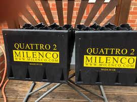 MILENCO QUATTRO 2  EXTRA WIDE 4 STAGE LEVELLERS