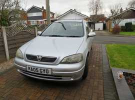 Vauxhall Astra, 2005 (05) Silver Hatchback, Automatic Petrol, 52,500 miles