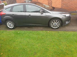Ford Focus TDCi Titanium, 2015 (15) Grey Hatchback, Manual Diesel, 71,173 miles