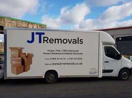 JT Removals- Fully furnished house removals in all Manchester areas!