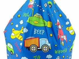 Childs transport theme beanbag