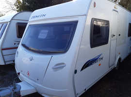 2009 Lunar Zenith EB, fixed bed, awning, mover, extras, serviced, ready to use