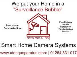 "2-3 Bed-Roomed Smart Home Surveillance Package ""Never Miss a Thing"""