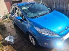 Ford Fiesta, 2011 (11) Blue Hatchback, Manual Petrol, 26,914 miles