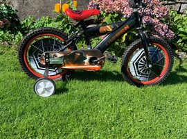 Boy's Star Wars Kylo Ren bike