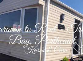 Caravan to rent treccobay