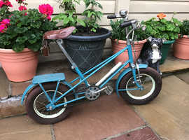 CHILDS PUSH BIKE  / CHOPPER STYLING  / COLLECTORS PIECE
