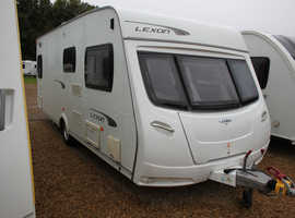 Lunar Lexon 540 2011 4 Berth Fixed Bed Caravan + 3 Months Warranty Included
