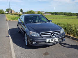 Mercedes CLC Class, 2008 (58) Grey Coupe, Automatic Petrol, 74,500 miles