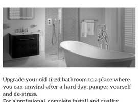 Quality bathroom installations by Blissful Bathrooms