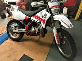 yamaha wr 200 enduro 1992 road registered rebuilt from frame up